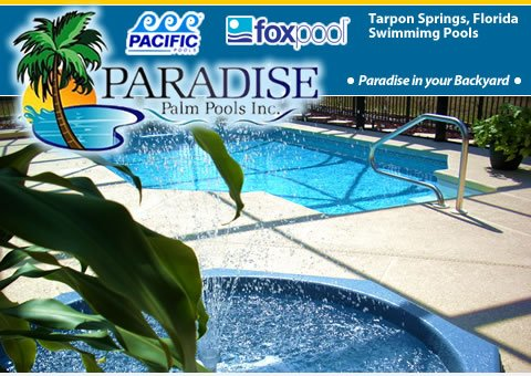 Paradise Palm Pools Tampa Vinyl Liner Swimming Pools
